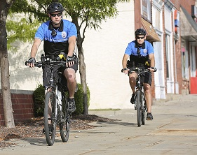 Police on Bikes- cropped