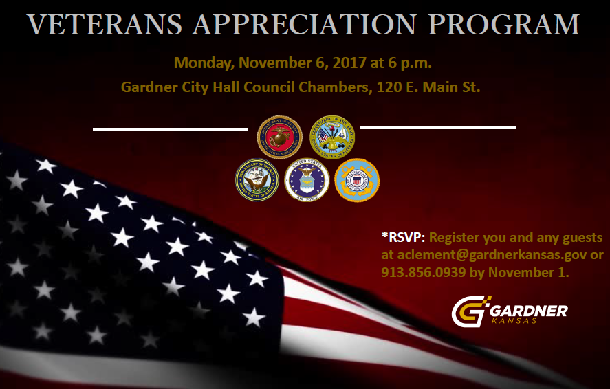 Veterans Appreciation Invite 2017