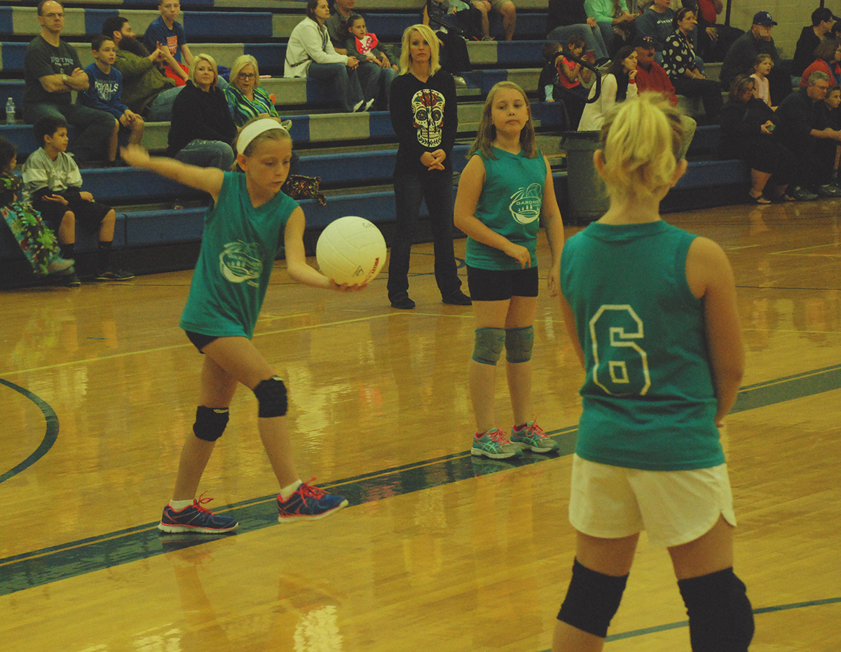 volleyball girls cropped