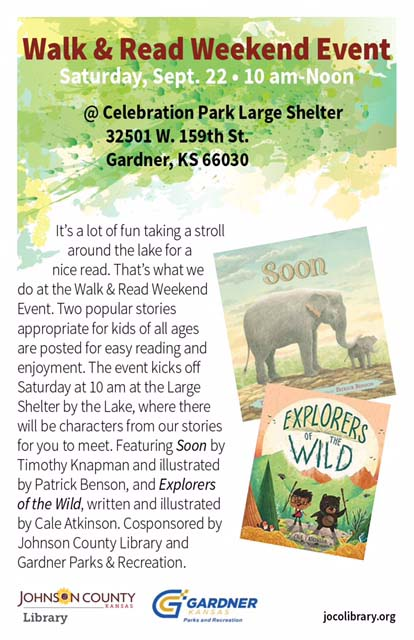 walk and read poster jocolib FW2018