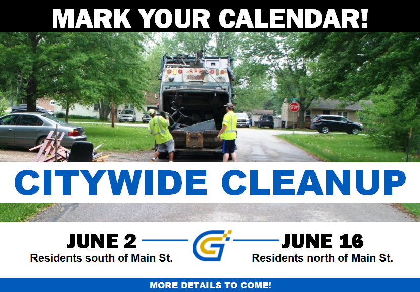 Citywide cleanup 2018 Announcement Pic