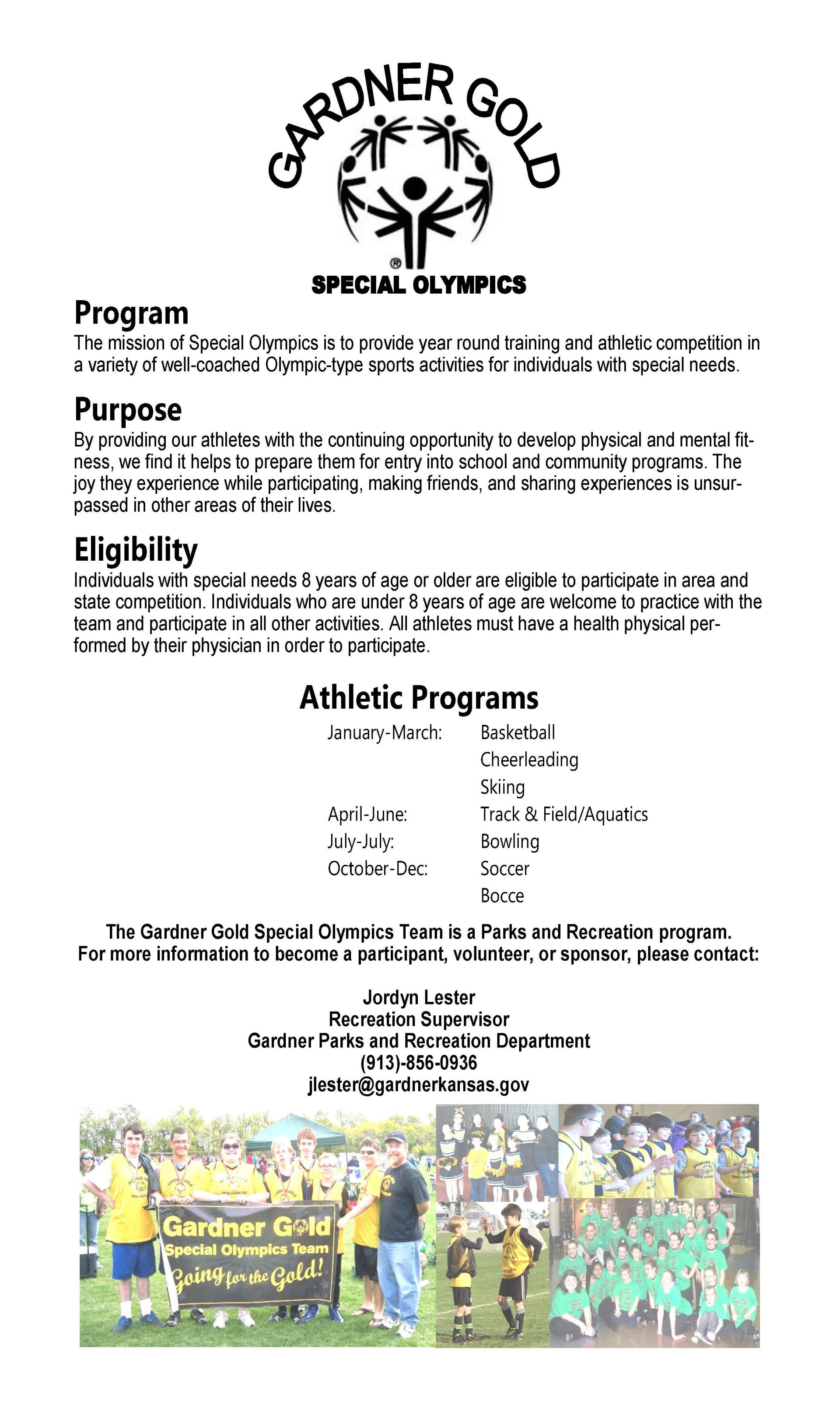 special olympics info updated with jl contact