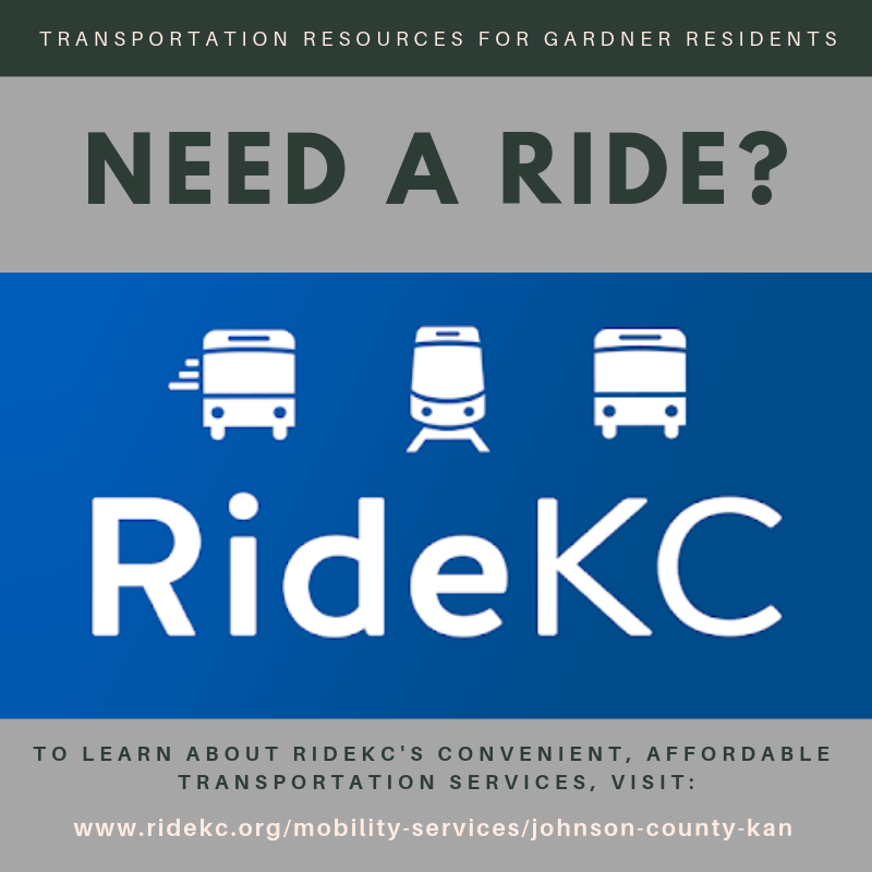 RideKC - Transportation Services for Gardner Residents | News List on