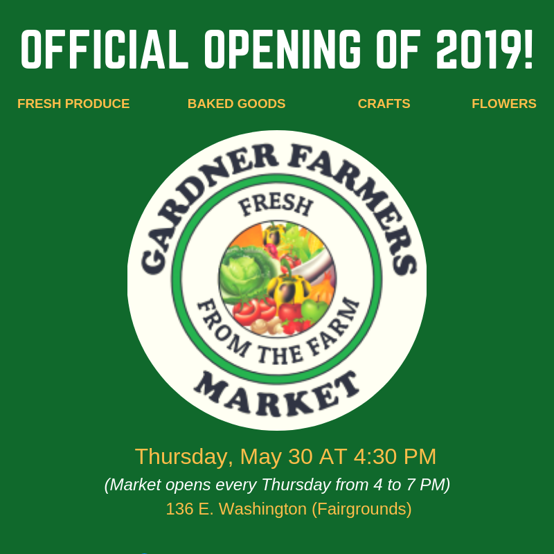Farmers Market Announcement