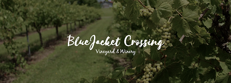 Blue Jacket Crossing Vineyard logo