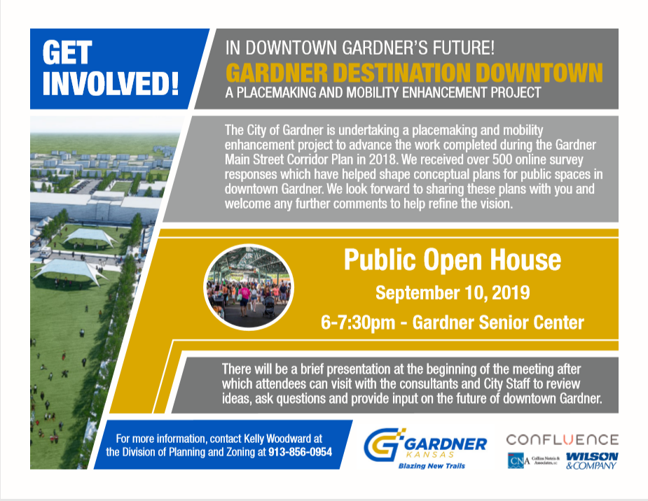 Gardner Downtown Destination Open House