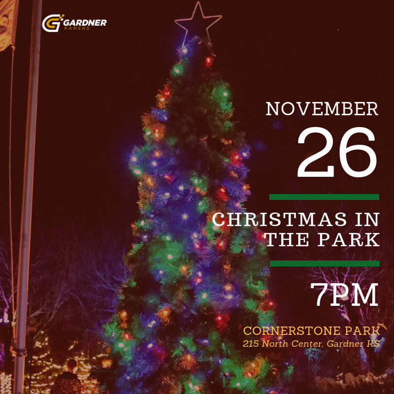 Kansas City Christmas Show Nov 2021 City To Host Its Annual Christmas In The Park Event November 26 At 7 P M News List Gardner Ks